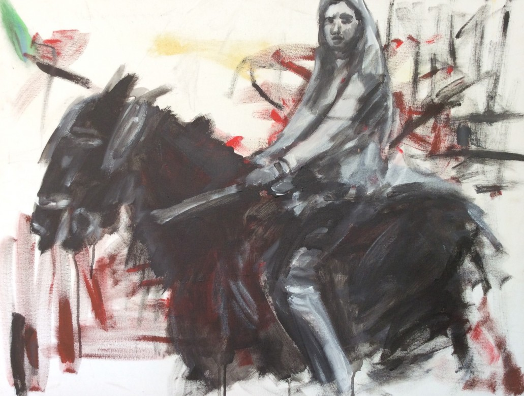 106/ Acryl auf Leinwand, 60 x 80 cm, 2005