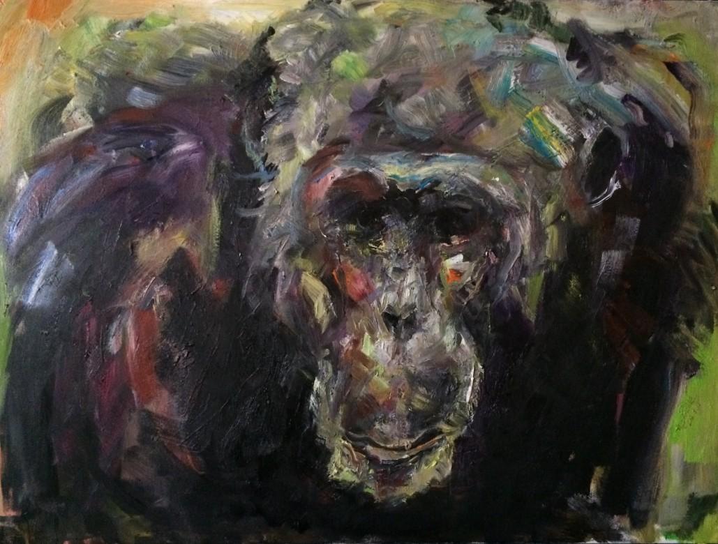 10, Ellington, Öl auf Leinwand, 60 x 80 cm, 2020