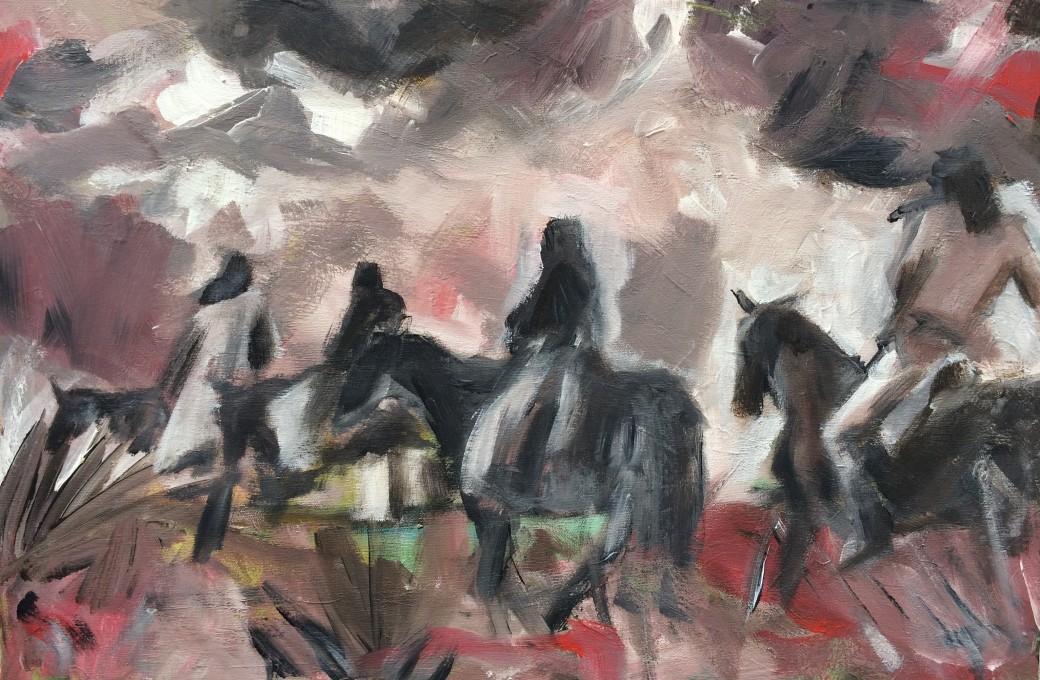 207/ Acryl auf Leinwand, 40 x 60 cm, 2008