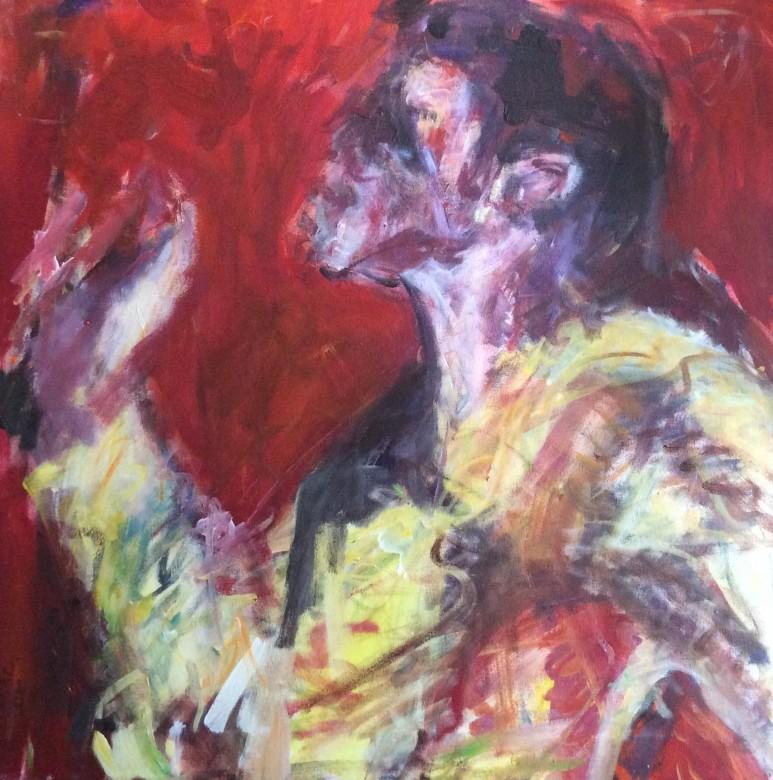 803/ Acryl auf Leinwand, 60 x 60 cm, 2010