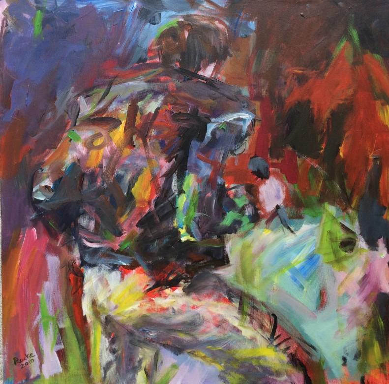 819/ Acryl auf Leinwand, 60 x 60 cm, 2010