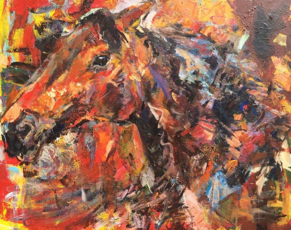 902/ Acryl auf Leinwand, 120 x 150 cm, 2009