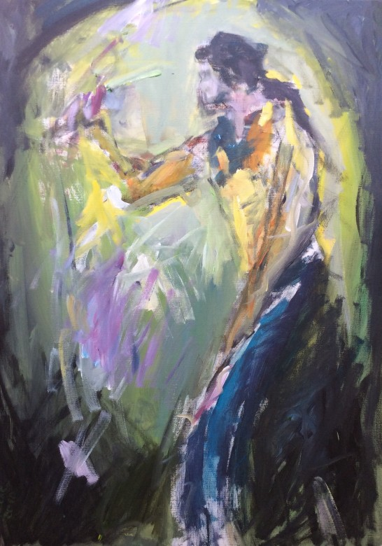 814/ Acryl auf Leinwand, 50 x 70 cm, 2010