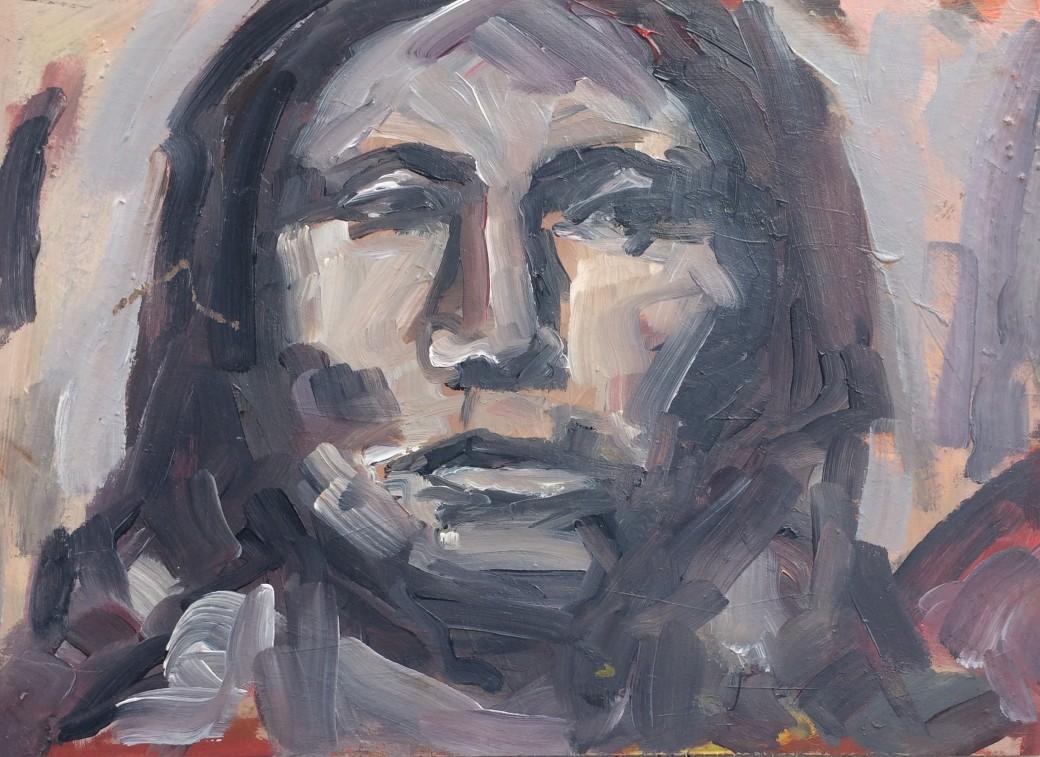 204/ Öl auf Holz, 50 x 35 cm, 2006