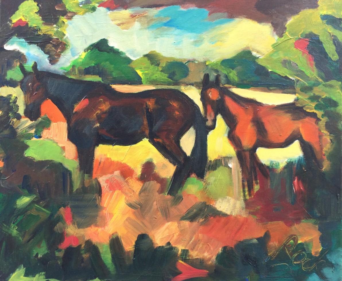 903/ Acryl auf Leinwand, 60 x 50 cm, 2003