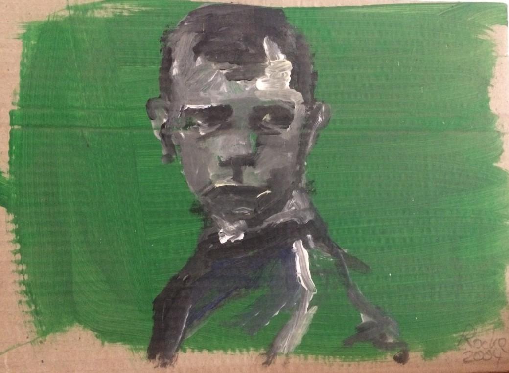 111/ Acryl auf Papier, 50 x 64 cm, 2005