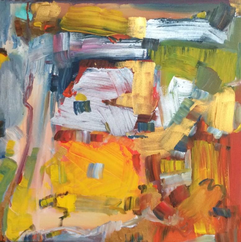 501/ Acryl auf Leinwand, 40 x 40 cm, 2016
