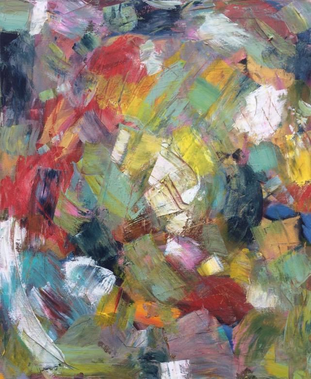 502/ Acryl auf Leinwand, 50 x 60 cm, 2016