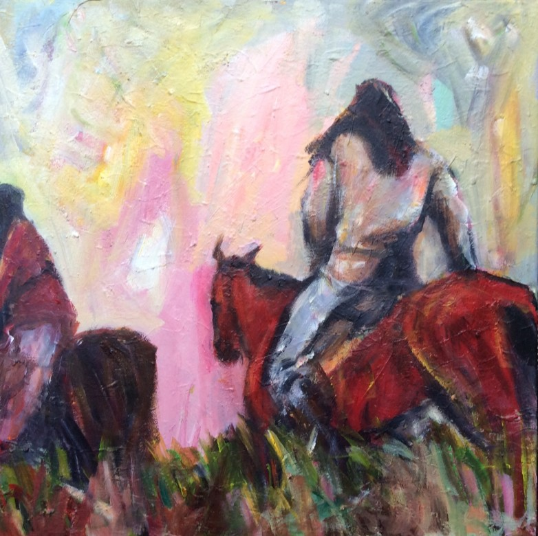 202/ Acryl auf Leinwand, 50 x 50 cm, 2011