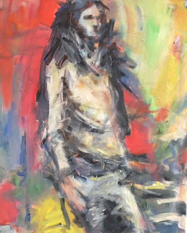 205/ Acryl auf Leinwand, 50 x 60 cm, 2006