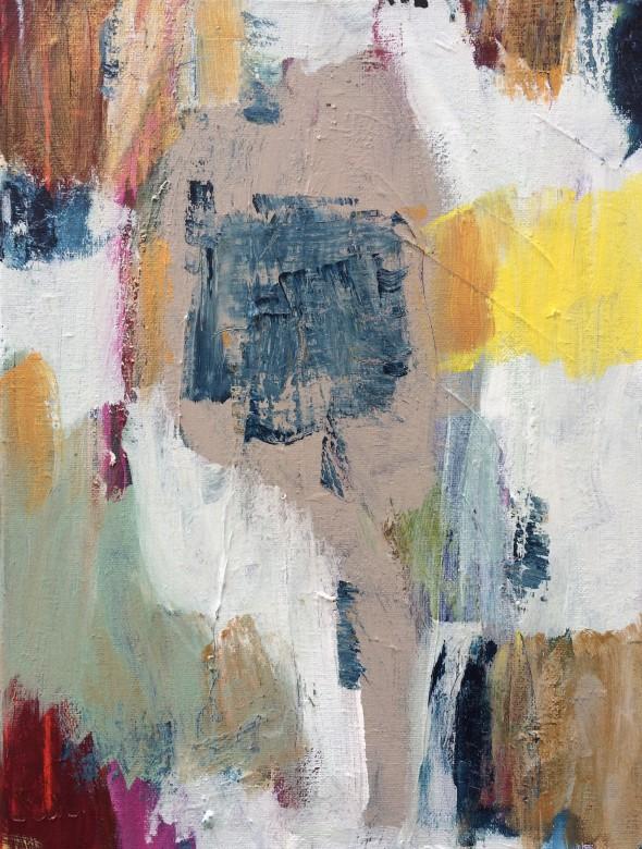 505/ Acryl auf Leinwand, 30 x 40 cm, 2016