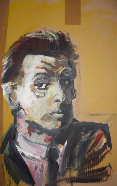 11 / Egon Schiele, Mischtechnik auf Karton, 2013