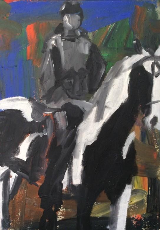 104/ Acryl auf Leinwand, 50 x 70 cm, 2005