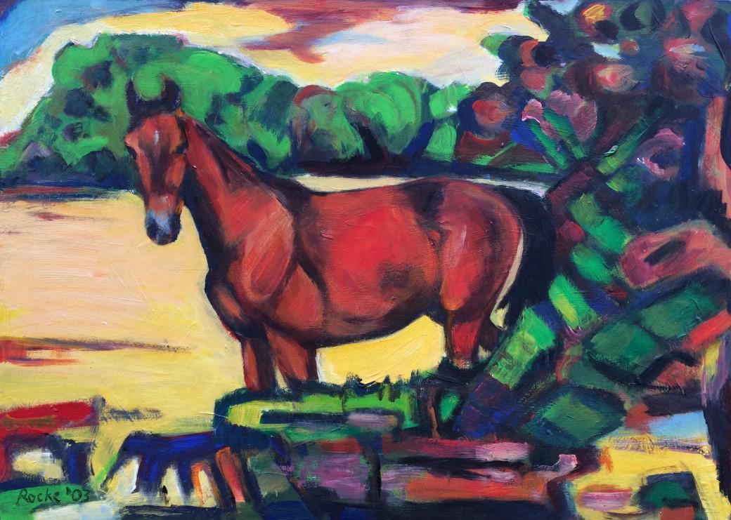 909/ Acryl auf Holz, 50 x 70 cm, 2003