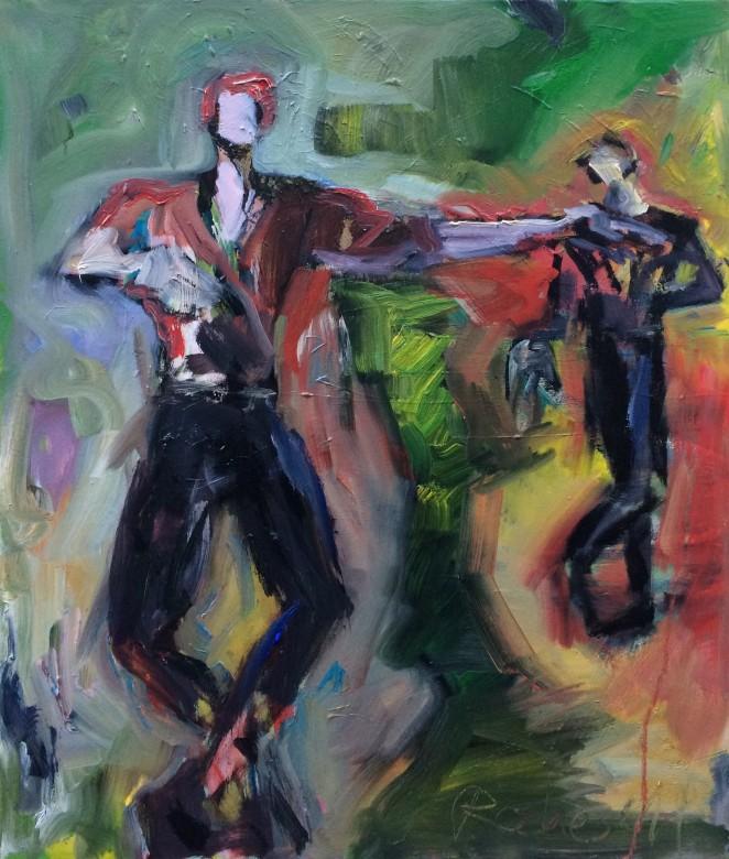 03/ Nureyev, Öl auf Leinwand, 60 x 70 cm, 2019