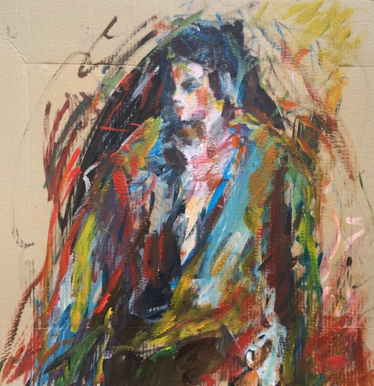 810/ Acryl auf Leinwand, 50 x 60 cm, 2010