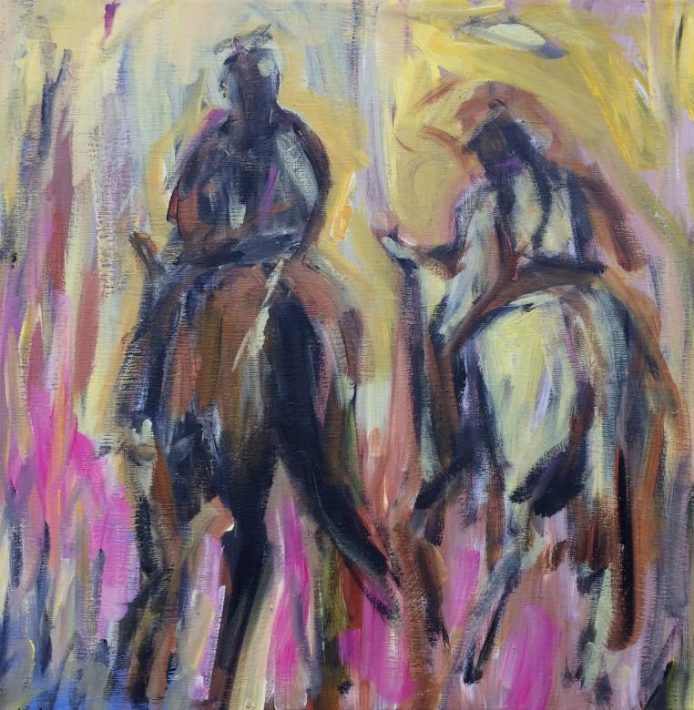 208/ Acryl auf Leinwand, 40 x 40 cm, 2011