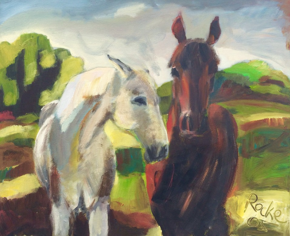 913/ Acryl auf Leinwand, 50 x 60 cm, 2005