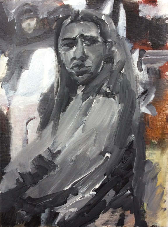 110/ acryl auf leinwand, 30 x 40 cm, 2005